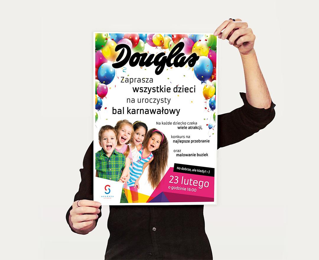 Plakat Douglas - bal karnawałowy