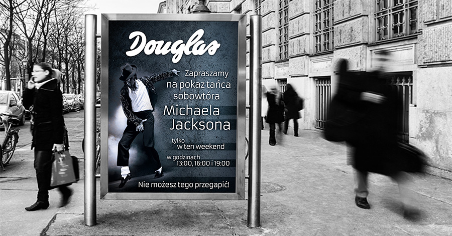 Plakat Douglas - Michael Jackson
