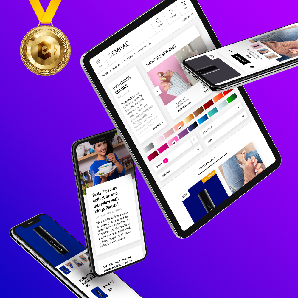 Semilac E-commerce Platform